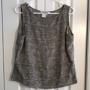 3/$15 Allison Taylor size large 100% silk top